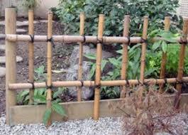 japanese fence design. Four-Eye Bamboo Fence Japanese Design