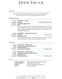 Resume To Work Casual Work Resume Template Resume Workshop Toronto