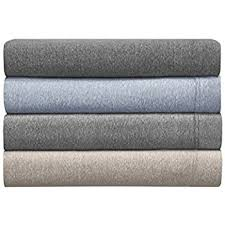 jersey cotton sheets. Delighful Sheets Morgan Home Fashions Cotton Rich TShirt Soft Heather Jersey Knit Sheet Set   All Season Bed Sheets Super Comfortable Warm And Cozy By Queen  In Sheets C