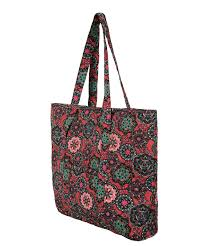 Quilted Floral Print Tote Bag | Rickis & ... Quilted Floral Print Tote Bag, Red/Purple, hi-res ... Adamdwight.com