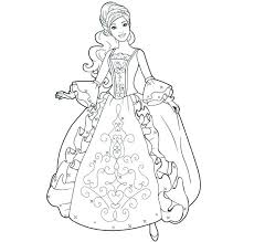 Barbie Doll Coloring Pictures Additional Images Item Color And Style