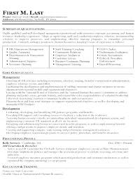 Resume Format For Hr This Is Sample Hr Resume Sample Hr Resume ...