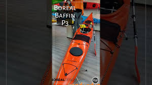 Boreal Design Baffin Boreal Design Baffin Kayak With New Comfort Flex Seat Tequila No
