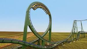 busch gardens officials tout the staminator as the world s only roller coaster with 48 000 loops spread