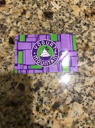yogurt mounn frozen yogurt gift card 20 value 1 of 1 see more