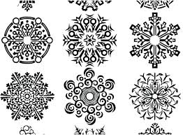 Coloring Snowflake Westtraverseinfo