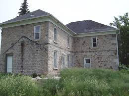 Abandoned Stone House near Guelph tario Canada All credit goes
