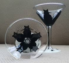 martini cat wine glasses