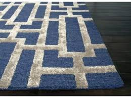 navy area rug 8x10 solid blue outdoor abbeville gray navy area rug