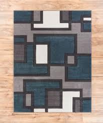amazing geometric area rugs for your interior floor decoration amazing white grey blue geometric area