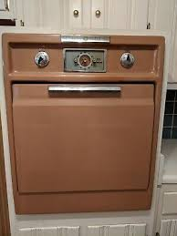 c 1957 general electric wall oven