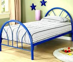 Twin Metal Bed Frame Headboard Reinforced Size Platform With And 6 ...