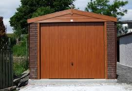 hanson garage doorHanson Woodthorpe Range Apex Garage  Megasheds North Wales