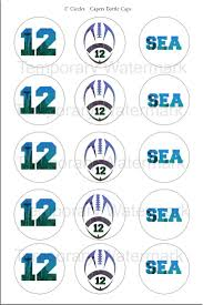 Seahawk Download Bottle Cap Printable Seahawk