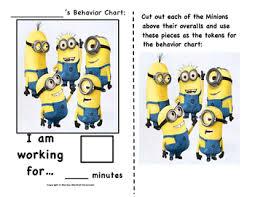 Minion Behavior Chart The Minions Behavior Chart