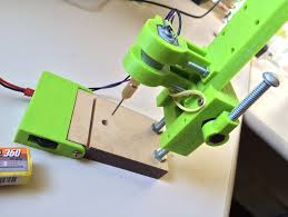 diy mini drill press. mini drill press for pcb [remixed] [+speed control] by naldin - thingiverse diy