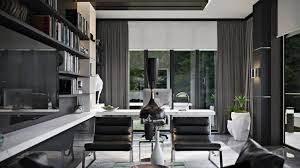 stylish home office space. Home Office : Rendering Interior Design Stylish Archicgi For Effective Way Showcase The Visual Power And Comfort This Project Designer Asked Our Space
