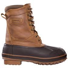 lacrosse men s ice king brown waterproof leather boot
