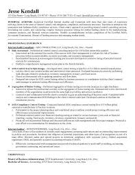Resume Templates For Internal Job Postings - Template