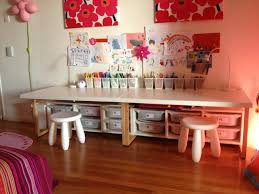 kids desk this hack is really simple just use the vika childrens desk and chair
