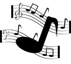 Note De Musique Coloriage Note Musique Symbole Clavier Comme Une