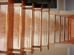 Painted Wood Stairs Remodelaholic From Carpet To Wooden Stair Treads Guest Remodel