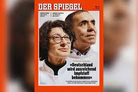Özlem Türeci ve Uğur Şahin, Der Spiegel'in kapağında