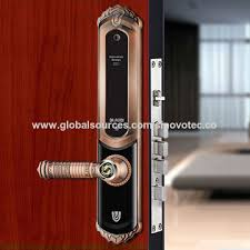 Single Latch Fingerprint Smart Door Lock China Fingerprint Smart Door Lock Schlage China Keyless Keypad Digital Biometric Fingerprint Smart Door Lock