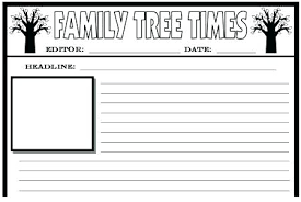 Newspaper Templates And Projects For Elementary School Students