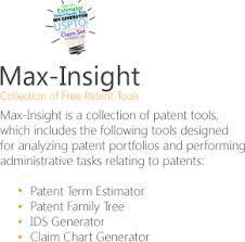 Free Patent Claim Chart Generator Maxval Ids Process Evaluation