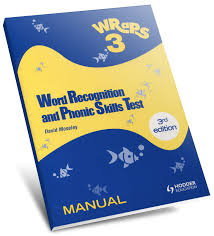 Word Test 3 Word Recognition And Phonic Skills Test Third Edition Wraps 3 Acer
