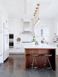 modern white kitchen island. Tanya Krpan, Design Director For The Popular North American Restaurant Chain Earls Kitchen + Bar. Modern White Island D