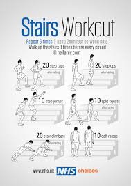Exercise Chart For Men Gym Free Workouts Nhs