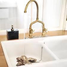 antique brass faucet. Antique Brass Bridge Faucet