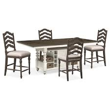 height of a dining table in inches. charleston counter-height dining table and 4 stools - gray white height of a in inches n