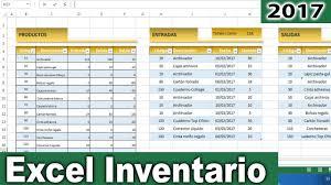 Inventario Excel