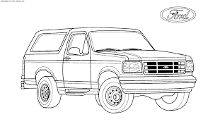 lifted truck coloring new coloring pages trucks