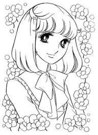 Small Picture Japanese Anime Coloring Books Coloring Pages Shojo Anime