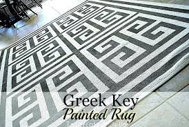 greek key area rug s design rugs grey