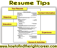 Resume Preparation Tips Free Resume Templates 2018