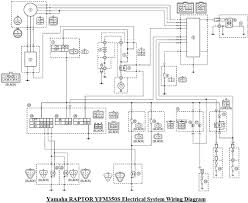 yamaha raptor electrical system wiring diagram
