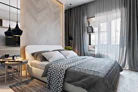 Small Master Bedroom Ideas With Theme Modern Bedroom Also Minimalist Bedroom  You Can Add White Bed And The Gray Curtains In Bedroom
