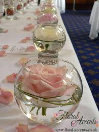 best fishbowl wedding centerpieces images on table regarding modern property round glass bowls for ideas fl
