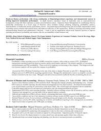 Credit Controller Resume Sample Credit Controller Resume Examples Sample Financial Executive Cfo 15
