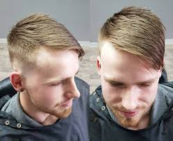 Mens Comb Over Hairstyle Comb Over Fade Haircuts