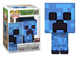 gamestop exclusive charged creeper funko pop
