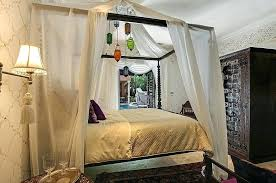 Adorable Moroccan Canopy Style Bed Curtains Sumptuous Themed Bedroom ...