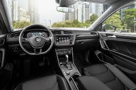 volkswagen tiguan 2018 interior. interior of the 2018 tiguan volkswagen