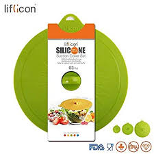liflicon glass lids 8 46 215mm silicone suction colorful food covers airtight seal microwave safe mugs pots bowls