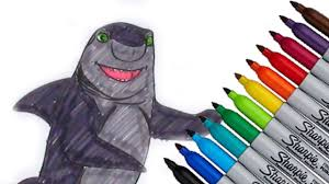 Small Picture Lenny Shark Tale DreamWorks Animation Coloring page 2016 New HD